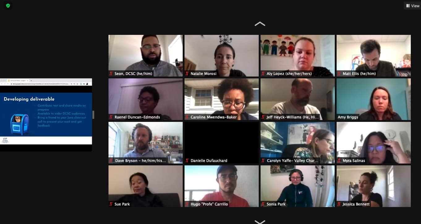 Communities of Practice Virtual Kick-off, Oct 2020